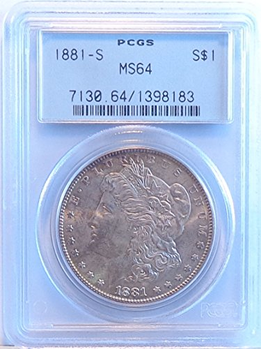 1881 S Morgan Dollar PCGS MS64