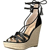 GUESS Womens Ollina Wedge Open Toe Casual Platform Sandals US