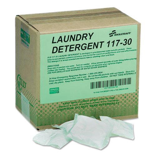 7930013672907 117 Laundry Detergent, Lemon, Powder Packet,6.25Lb Box, by AbilityOne®