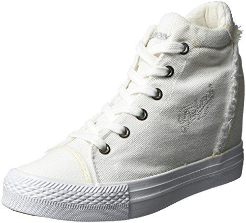 Para Zapatillas Fepe023 Qqrwevs Mujer Bianco Blanco Altas Fiorucci pwISEqYz