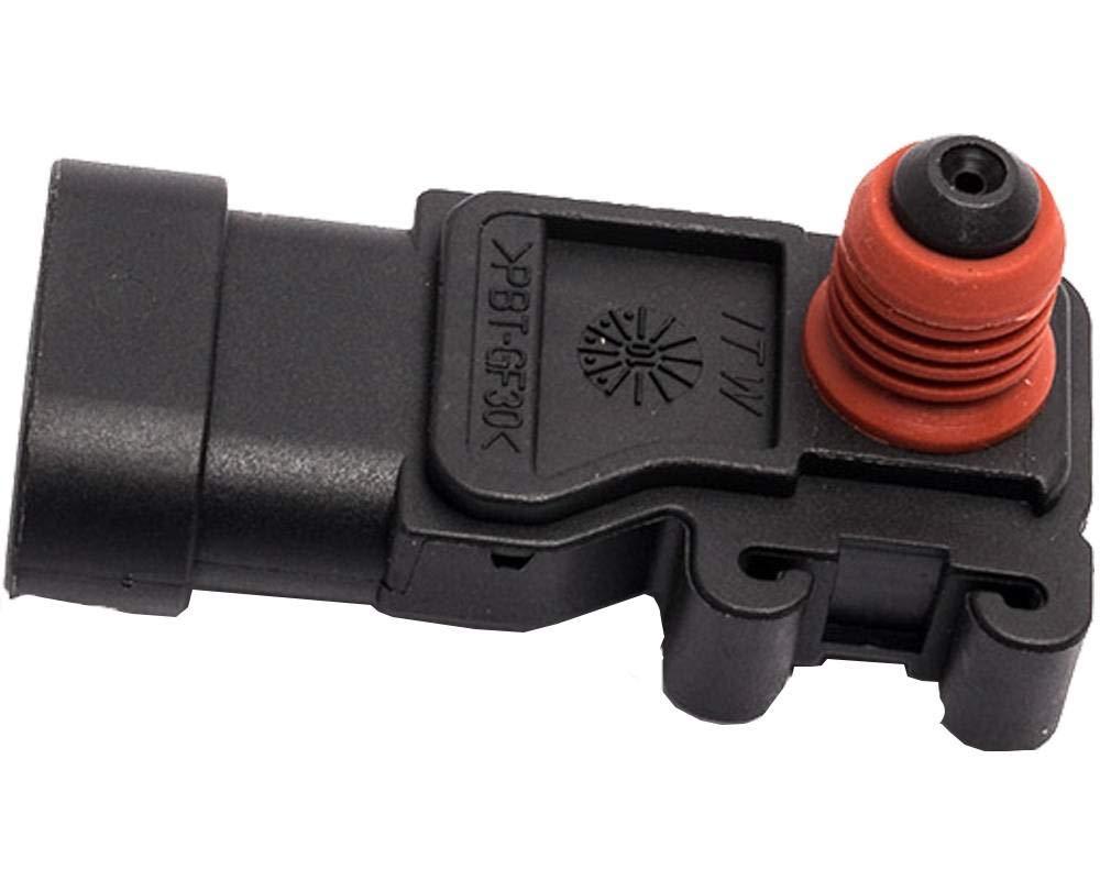 KARPAL Manifold Absolute Pressure MAP Sensor 12614970 for Buick Cadillac Chevrolet GMC