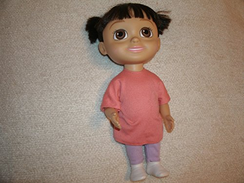 Disney Spinmaster Monsters Inc. Babblin' Boo Talking Laughing Singing Doll (Monsters Inc Talking Doll compare prices)