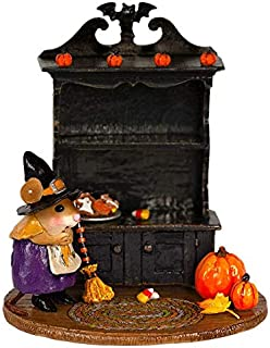 product image for Wee Forest Folk M-674b Collector's Halloween Curio - Purple Witch - Empty (New 2019)