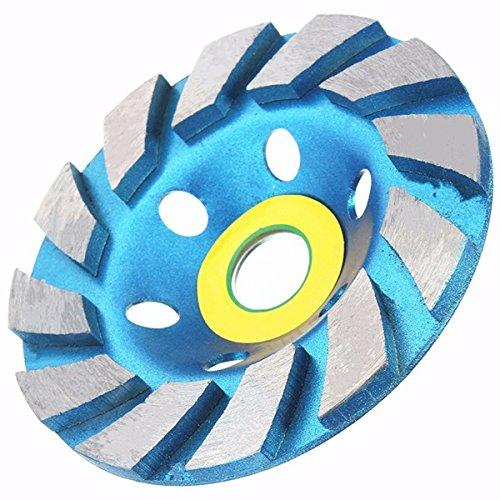 EsportsMJJ 100Mm 4 Inch Diamond Grinding Wheel Concrete Masonry Stone Marble Sanding Disc