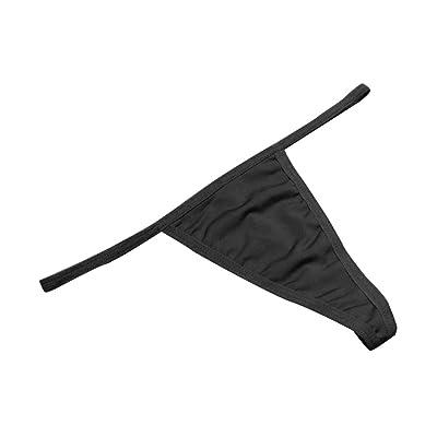 1 / 6pcs Mujeres Bajo Cintura De Color Sš®lido G-String Tongs Sin Costura Underwear Bragas Briefs: Ropa y accesorios