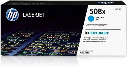 Hp 508x Cf361x Blau Original Toner Mit Hoher Reichweite Für Hp Color Laserjet Enterprise M552dn M553 M577 Bürobedarf Schreibwaren
