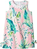 Lilly Pulitzer Kids Baby Girl's Little Lilly Classic Shift Dress (Toddler/Little Kids/Big Kids) Coral Reef Tint Chimpoiserie 7