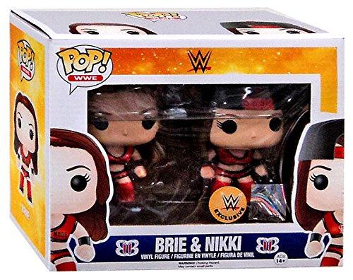 Funko Pop! WWE Exclusive 2 Pack Bella Twins (Brie & Nikki) by Pop