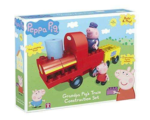 Peppa Pig et Papy Pig - Train à construire