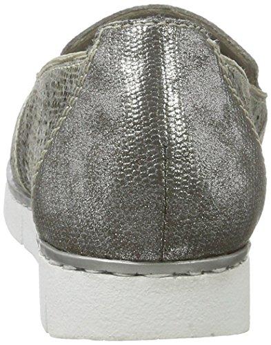 Para grau Rieker Mocasines Multicolor altsilber 90 M1375 Mujer metallic Fgq4xRq