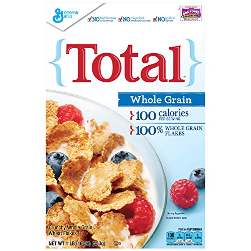 General Mills Whole Grain Cereals - Total Whole Grain Breakfast Cereal, 16 oz (Pack of 14)