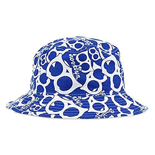 '47 Brooklyn Los Angeles Dodgers Bravado Printed All Over Bucket Hat - MLB Gilligan Fishing Cap
