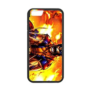 Wolverine iPhone 6 Plus 5.5 Inch Cell Phone Case Black peef