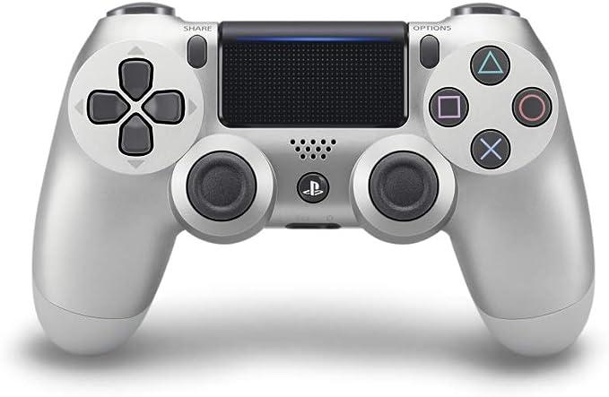 Sony - Mando Inalámbrico Dualshock 4 V2, Color Plata (PS4): Amazon.es: Videojuegos
