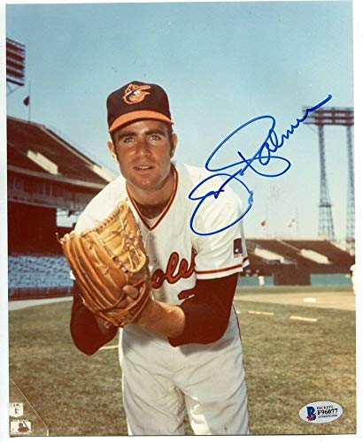 Jim Palmer Signed Photo 8x10 Autographed Orioles Beckett BAS F96077