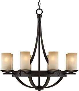 Sunset onyx stone 9 light entry large candle chandelier amazon sperry bronze 28 w scavo glass chandelier aloadofball Images