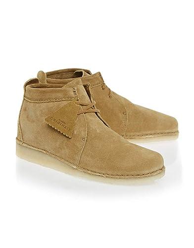 af62ea5b86 Clarks Originals Ashton Boot Boots 46 EU Oak Suede: Amazon.de: Schuhe &  Handtaschen