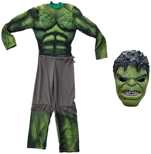 YIWANGO Niño Hulk Cosplay Disfraz Bola De Disfraces Halloween ...
