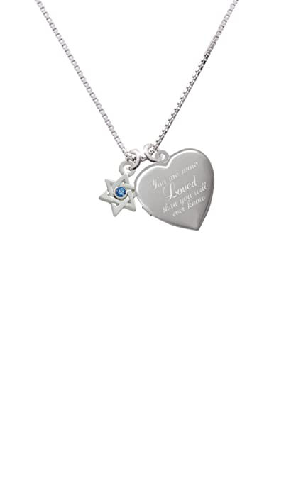 18-Inch Rhodium Plated Necklace with 4mm Zircon Birthstone Beads and Sterling Silver Saint Rita of Cascia Charm.