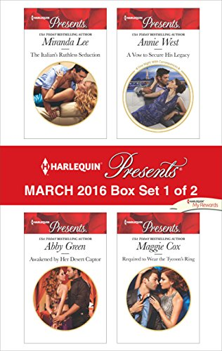book cover of Harlequin Presents March 2016 - Box Set 1 of 2