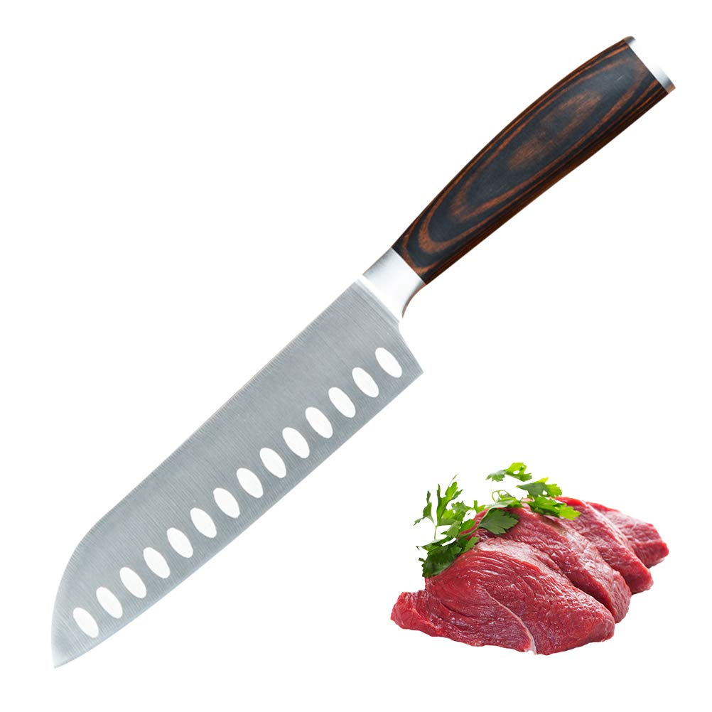 Lispeed Cuchillo para Pan serrado, Cuchillo de Pan serrado ...