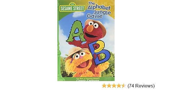 Amazon com: Sesame Street - The Alphabet Jungle Game: Kevin Clash