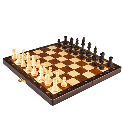 Magnetic Wooden Portable Travel Chess Game Set, 11 - Portland Lloyd