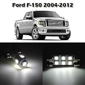 Partsam 10 White Interior Led Light Package Kit For Ford F 150 2004 2005 2006 2007