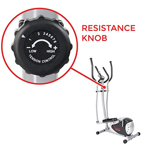 Magnetic Elliptical Machine Trainer by Sunny Health & Fitness - SF-E905 by Sunny Health & Fitness (Image #7)