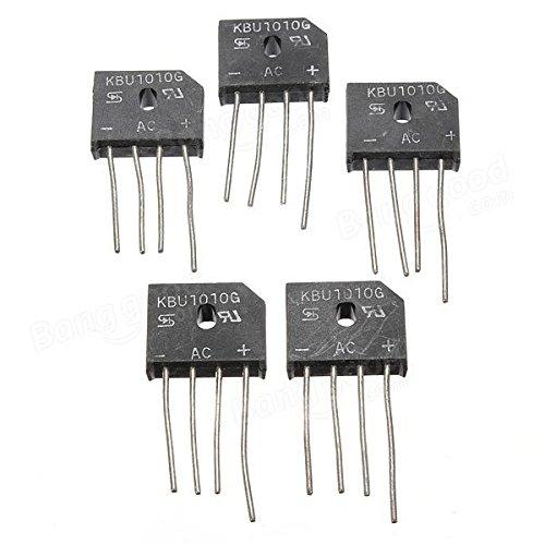 Doradus 10A 1000V KBU1010 einzelnen Phasen Diodengleichrichterbrücke IC Chip