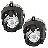 Fog Lights Lamps Pair Set Replacements for Jeep