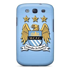 Elaney Premium Protective Hard Case For Galaxy S3- Nice Design - Manchester City Fc by icecream design
