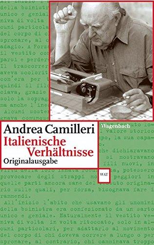 Italienische Verhältnisse: Originalausgabe (WAT) Taschenbuch – 23. August 2005 Klaus Wagenbach Andrea Camilleri Friederike Hausmann Moshe Kahn