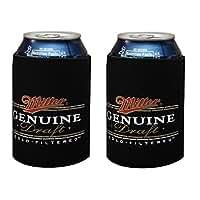 MILLER GENUINE DRAFT MGD Beer Can Kaddy Coolie Huggie Cooler New (2)