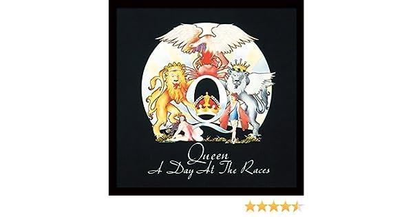 Queen Reina un día en Las Carreras diseño de la Portada del álbum Impresión enmarcada, Multicolor, 30,5 cm: Amazon.es: Hogar