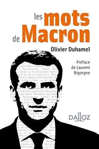 Les Mots De Macron À Savoir French Edition