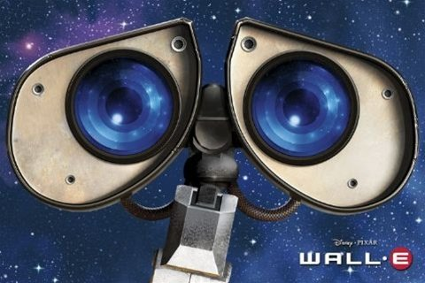 Wall-E Pixar Disney Animated Movie Poster 24 x 36 inches