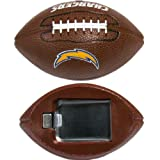 NFL San Diego Chargers Football Bottle Opener Magnet, 3-Inch, Brown