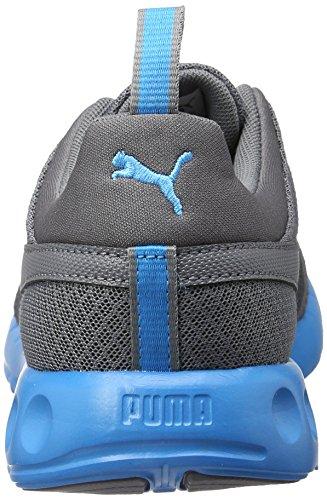 Puma Carson Mesh, Zapatillas de Entrenamiento para Hombre Gris (Quiet Shade-blue Danube 07)