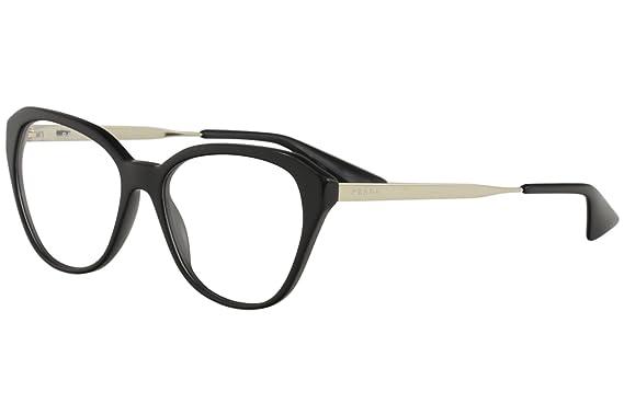 d1f1cb335ef Prada CINEMA PR28SVF Eyeglass Frames 1AB1O1-54 - Black PR28SVF-1AB1O1-54