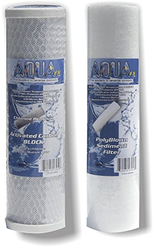 Image of The AquaFX Reverse Osmosis 10 inch Replacement Pre-Filter Set