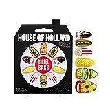 House Of Holland False Nails - Burger Bars Food Nails (24 Nails) [Burger Bars, 4016701, LL_0600] by House of Holland