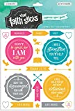 These high-quality, clear stickers are perfect for scrapbooking, Bible journaling, greeting cards, and so much more! Each package includes two sheets of stickers. Express your faith in a fresh new way!These colorful Scripture stickers include...