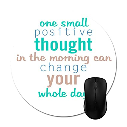 Amazoncom Good Morning Monday Quotes Mouse Pad Trendy Office Desk