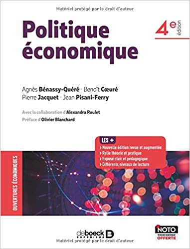 Amazon Fr Politique Economique Collectif Agnes Benassy