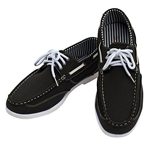 DT NewYork Herren Bootsschuh Budget, Farbe:grau, Größe:42
