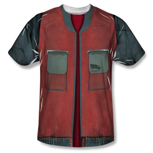 Back To The Future Movie Jacket Costume Adult T-Shirt