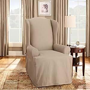Amazon.com: Sure Fit - funda para sillón de alas ...