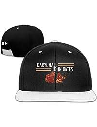Men's Daryl Hall And John Oates Tour Classic Jogging White Cap Hat Adjustable Snapback