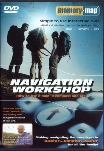 Memory-map Navigation Workshop DVD: How to Use a Map,a Compass and GPS